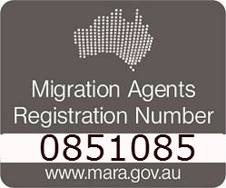 Australian Migration Agents Registration Number 0851085
